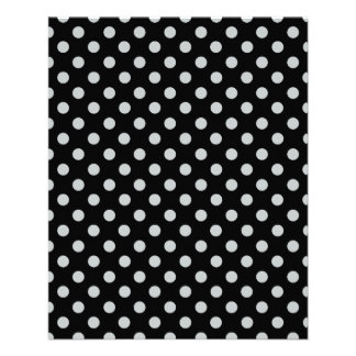 Change Grey Polka Dots Any Colour Click Customise 11.5 Cm X 14 Cm Flyer
