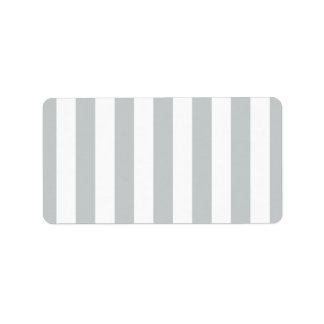 Change Grey Stripes to  Any Color Click Customize Address Label