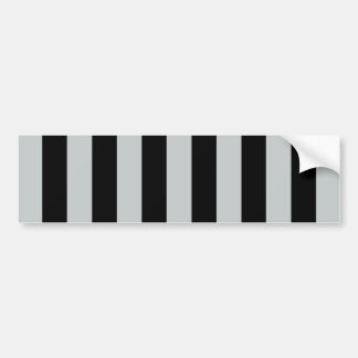 Change Grey Stripes to  Any Color Click Customize Bumper Sticker