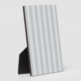 Change Grey Stripes to  Any Color Click Customize Plaque