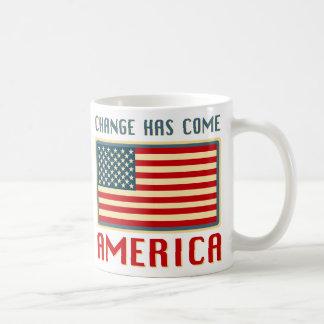 Change Has Come to America Obama Coffee Mug