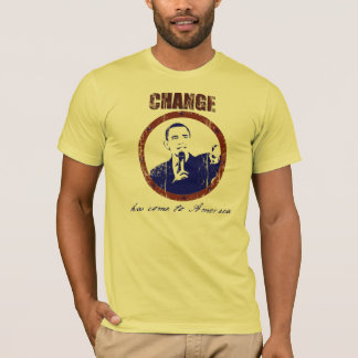 Change Has Come to America Obama Mens T-Shirt