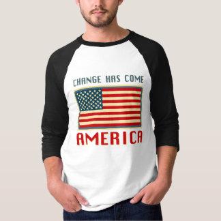 Change Has Come to America Obama Tshirt