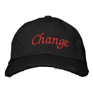 change hat baseball cap