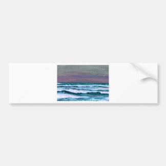 Change in the Weather Ocean Waves Seascape Bumper Sticker