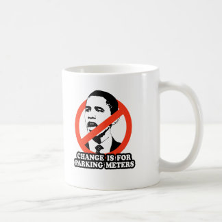 CHANGE IS FOR PARKING METERS T-SHIRT MUGS