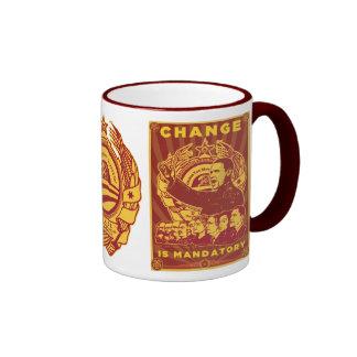 Change Is Mandatory! Comrade Obama Spoof Mugs
