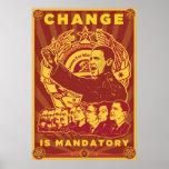 Change Is Mandatory Poster