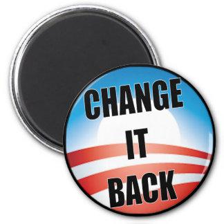 Change It Back 6 Cm Round Magnet