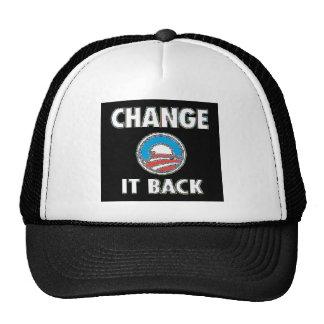 CHANGE IT BACK HATS