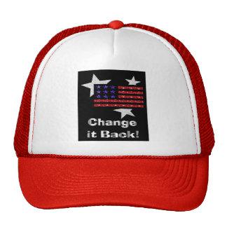 Change it back flag hat