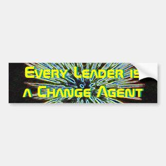 Change Leader bumper sticker