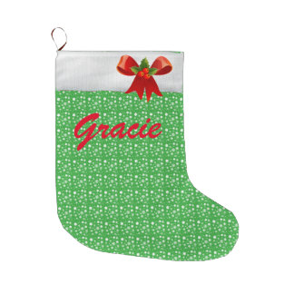Change Name; Personalized Christmas Stocking! Large Christmas Stocking