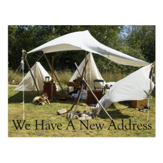Change of Address Card - Camp Postcards