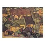 Change of Address - Schiele Yellow CIty, 1914 Postcard