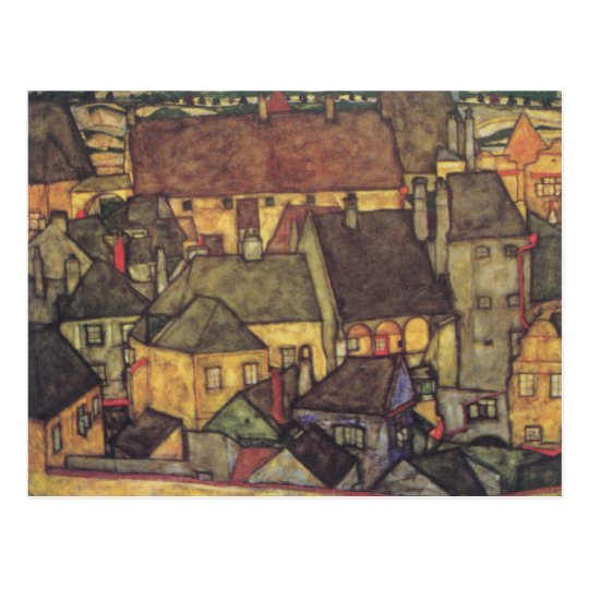 Change of Address - Schiele Yellow CIty, 1914 Postcard