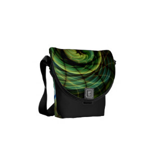 Change of Skin Gnarly Fractal Commuter Bags
