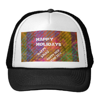 Change Text NEWYEAR HOLIDAYS CHRISTMAS XMAS DIY Hats
