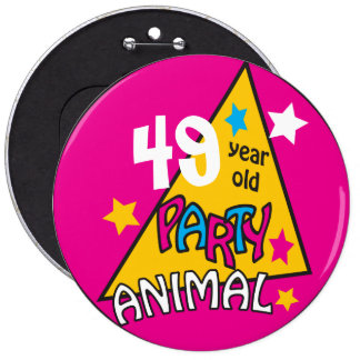 (Change the Age) Party Animal Button