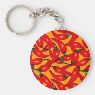 Change the Color Chili Key Chain
