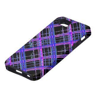 Change the Color Diagonal Plaid Tough iPhone 5 Case