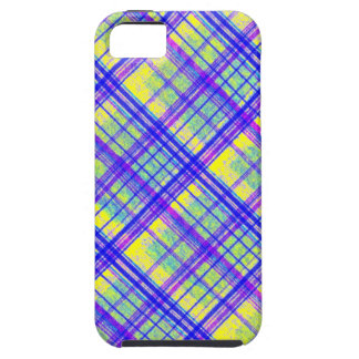 Change the Color Diagonal Plaid iPhone 5 Cover