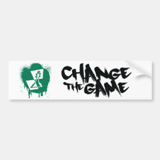 Change the Game Logo Bumper Sticker