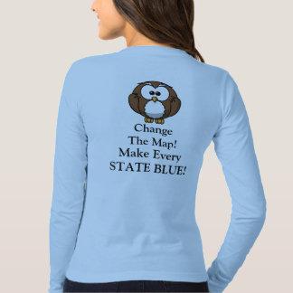 Change The Map Tee Shirts