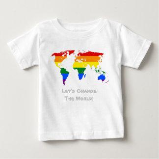 Change the world gay pride T-Shirt