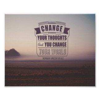 Change Your World Photograph