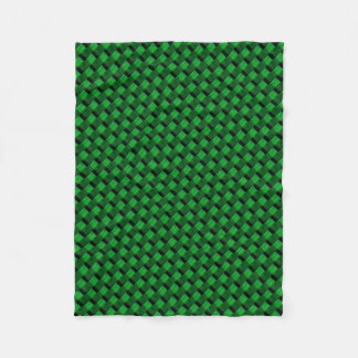 CHANGEABLE BACKGROUND COLOR-WEAVE FLEECE BLANKET