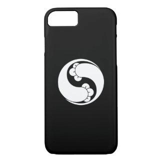 Changed shape two clove swirls iPhone 7 case