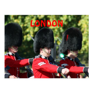 Changing of the Guard London Postcard