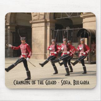 Changing of the Guard - Sofia, Bulgaria Mouse Mat