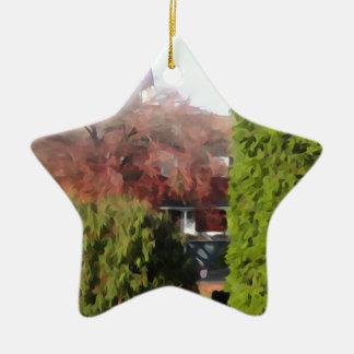 Changing Seasons Christmas Ornament