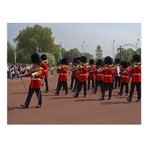 Changing the Guard Postcard