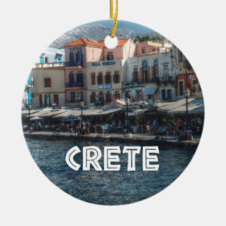 Chania Crete Greek Islands Christmas Ornament