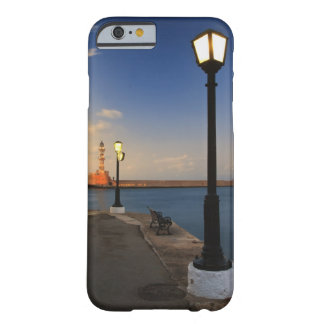 Chania Harbor and Venetian lighthouse at sunset Barely There iPhone 6 Case