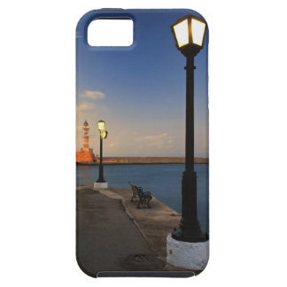 Chania Harbor and Venetian lighthouse at sunset Case For The iPhone 5