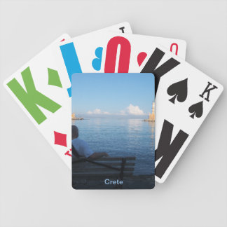 Chania Harbour, Crete Bicycle® Playing Cards