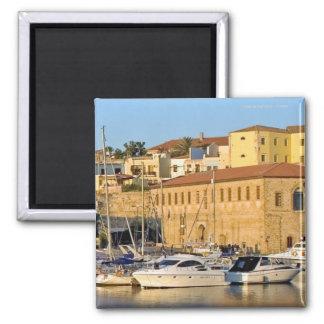 Chania Harbour; Crete Magnet