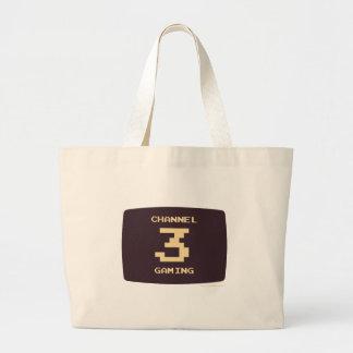 Channel 3 Gaming Jumbo Tote Bag