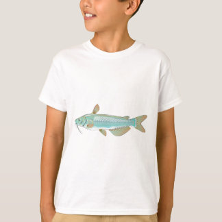 Channel catfish game fish farm fish seafood market T-Shirt