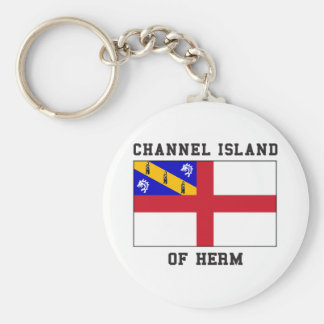 Channel Island of Herm Key Ring