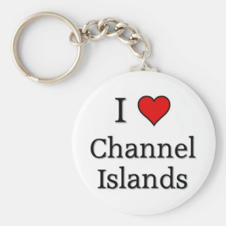 Channel Islands Basic Round Button Key Ring