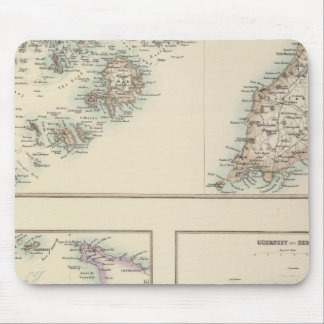 Channel Islands, Scilly Islands, and Isle of Man Mouse Mat