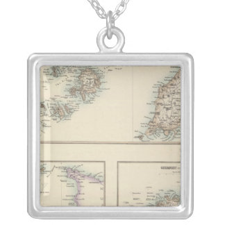Channel Islands, Scilly Islands, and Isle of Man Silver Plated Necklace