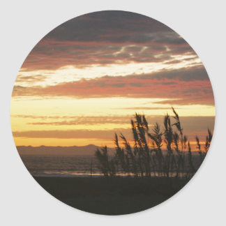 Channel Islands Sunset Stickers