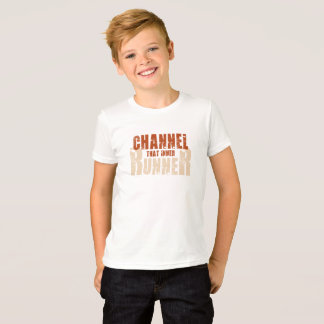Channel That Inner Runner Kid Shirt