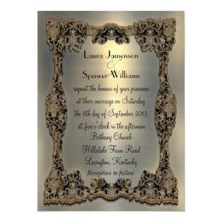 "Chanteleah Formal Wedding Invitation 5.5"" x 7.5"""